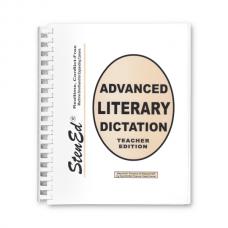 Advanced Literary Dictation - Teacher Edition (Book)