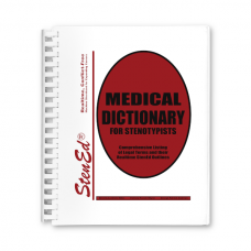 Medical Dictionary for Stenotypists (Book)