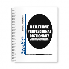 Realtime Professional Dictionary (Book)