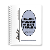 Realtime Dictionary of Briefs & Phrases (Book)