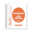 Speedbuilding for Court Reporting - Volume 1 (Book)