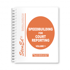 Speedbuilding for Court Reporting - Volume 1 Package