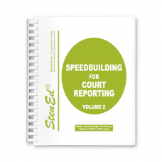 Speedbuilding for Court Reporting - Volume 2 Package