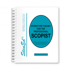 Stenotype Theory for the Professional Scopist (Book)