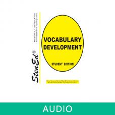 Realtime Vocabulary Development (Online Audio)